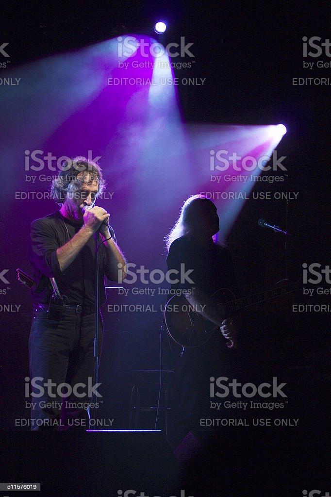 P.F. M.  - Premiata Forneria Marconi итальянский Band Стоковые фото Стоковая фотография