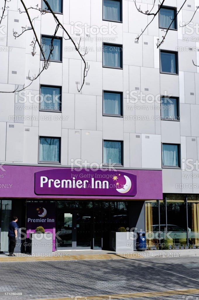Premier Inn hotel stock photo