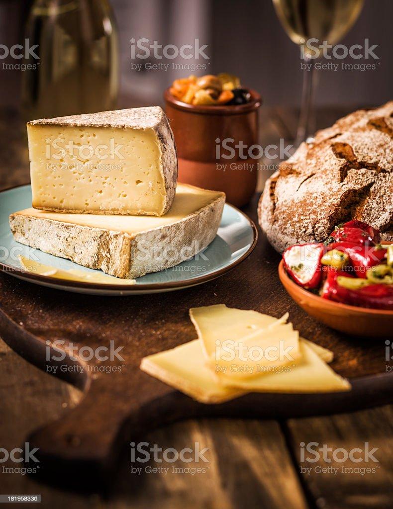Premium Cheese royalty-free stock photo