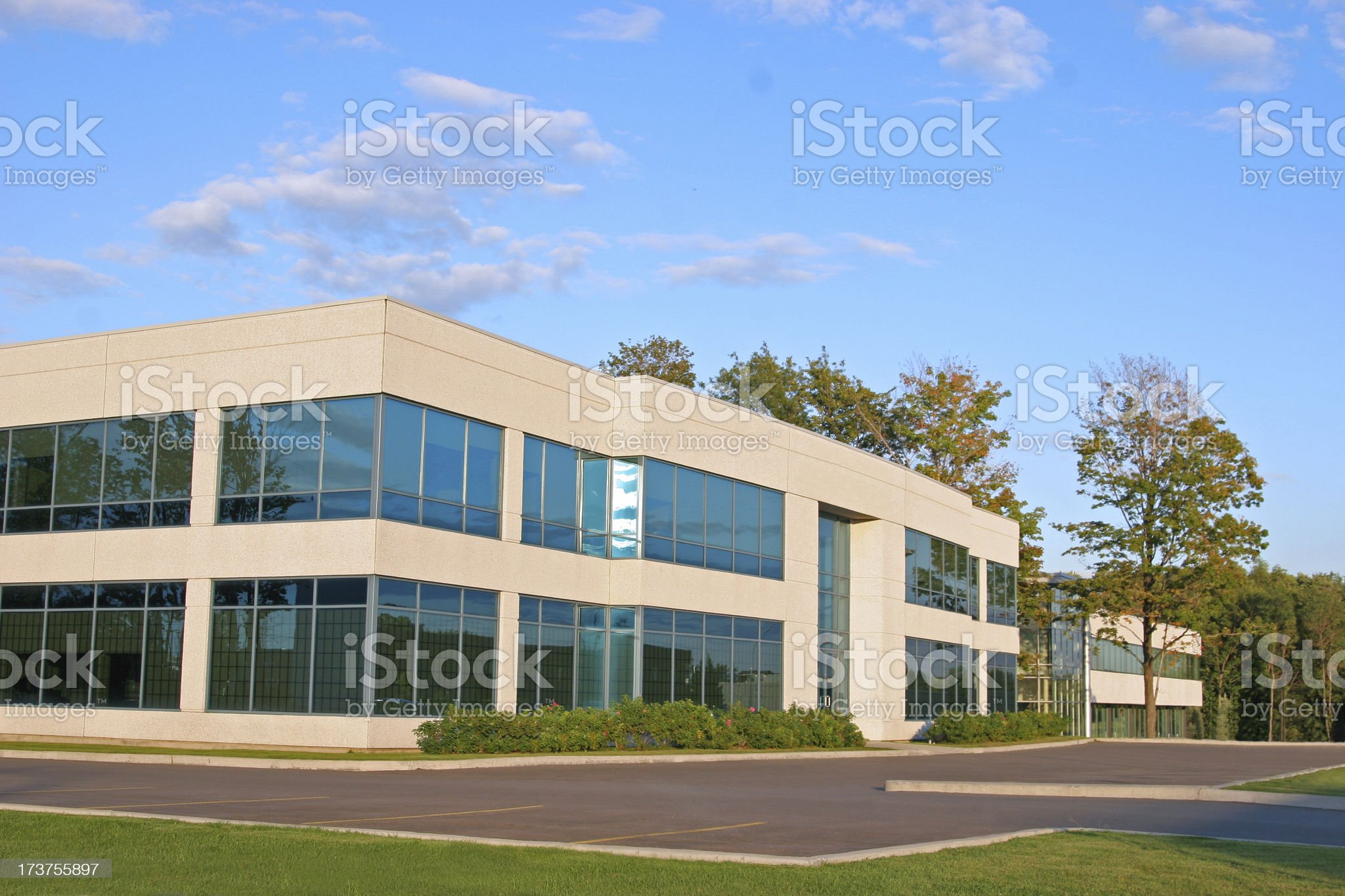 Premium Entreprise Building royalty-free stock photo