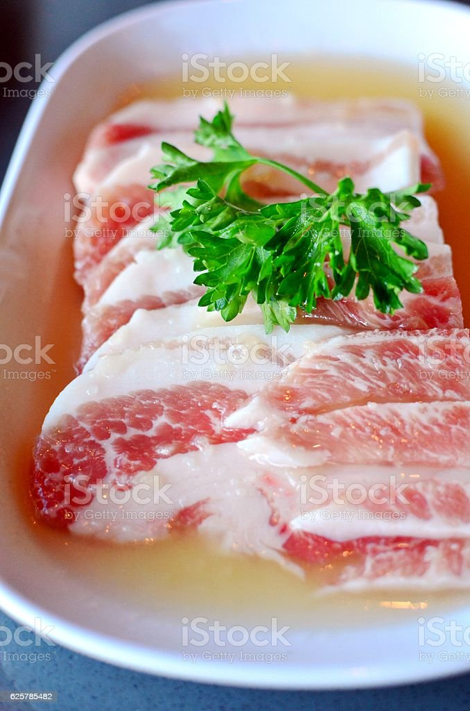 Premium pork stock photo