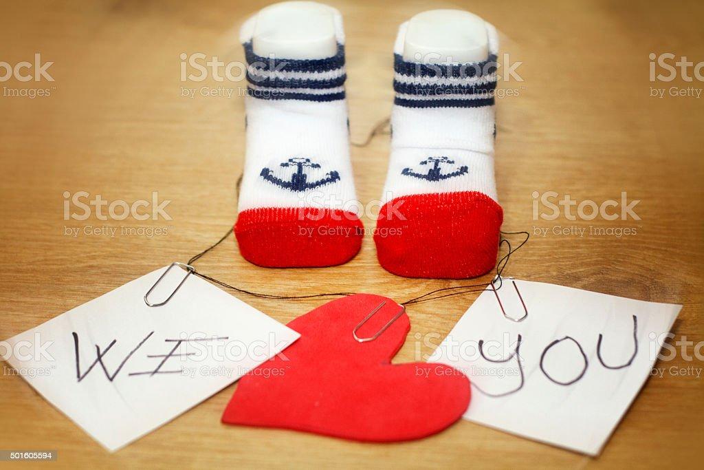prenatal preparation for baby stock photo