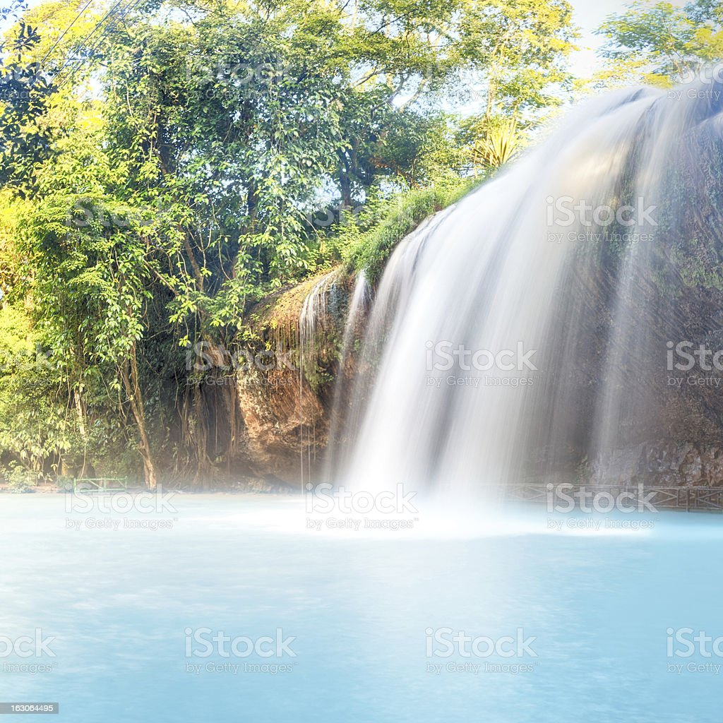 Prenn waterfall royalty-free stock photo