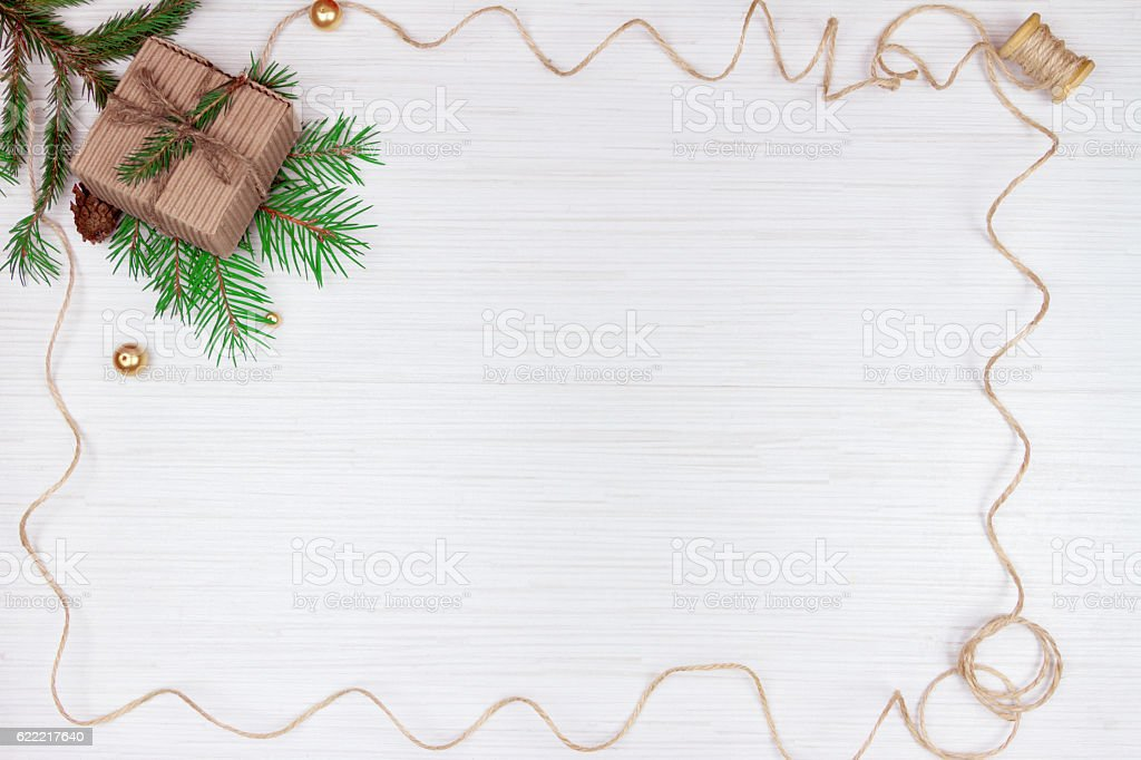 Preparation for christmas holidays stock photo