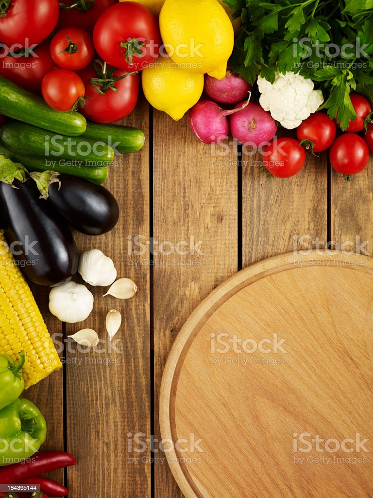 Preparation for dinner royalty-free stock photo