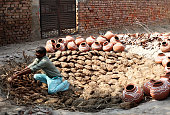Preparation for the pot baking in furnace