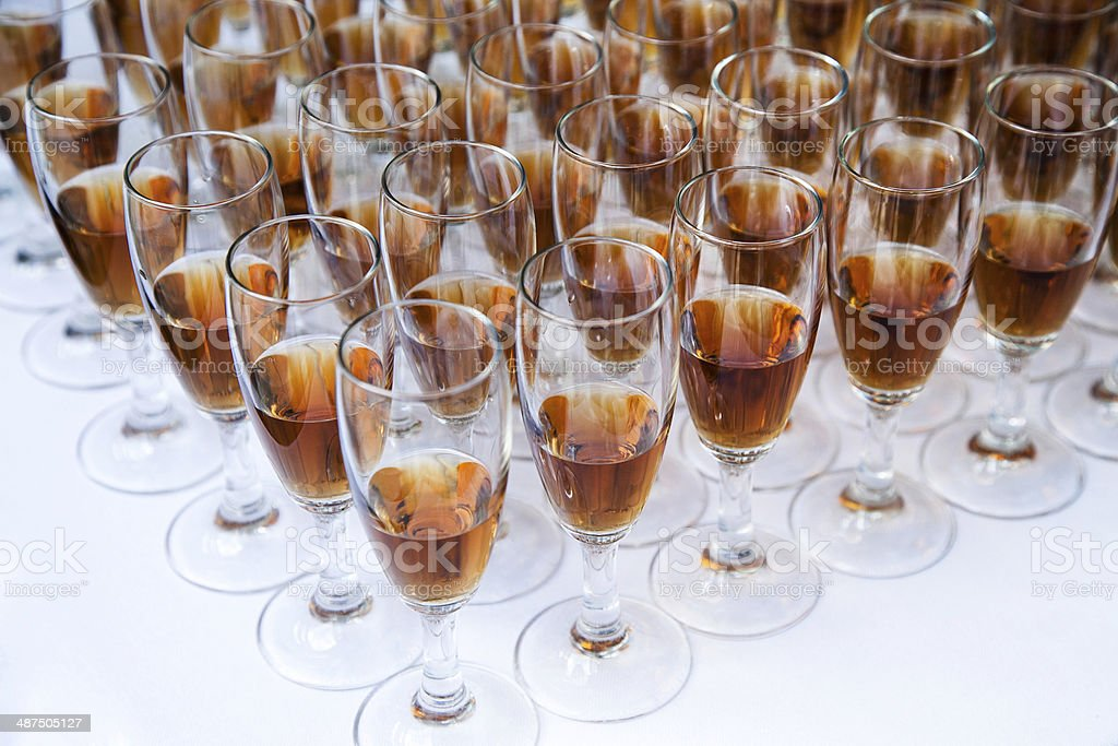 preparation of cocktails royalty-free stock photo
