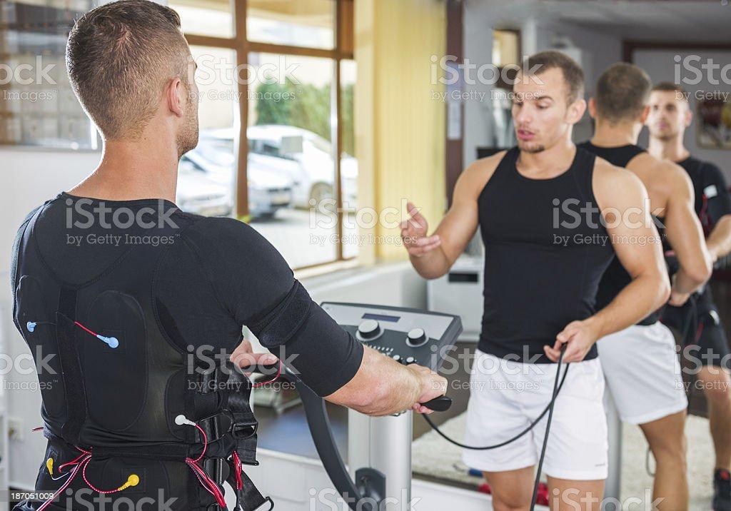 Preparatory Training stock photo