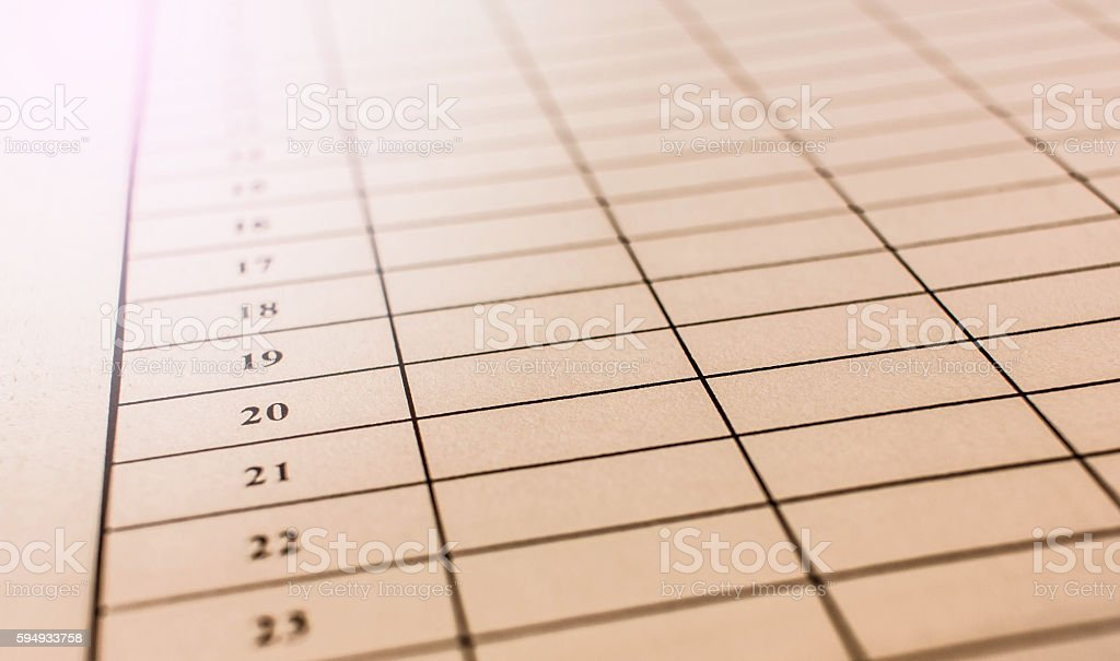 prepare filling item form stock photo