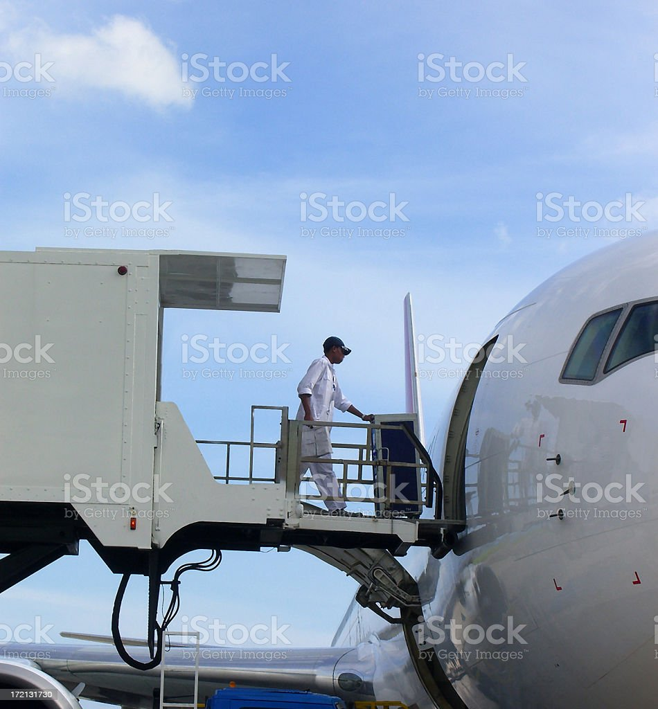 Prepare for Departure royalty-free stock photo