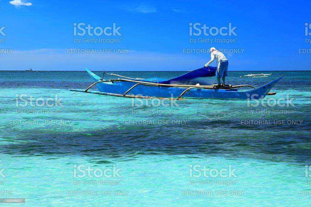 Prepare for fishing stock photo