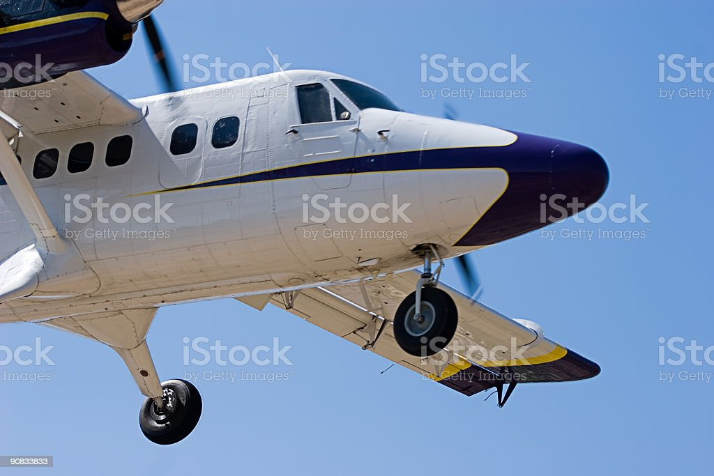 Prepare For Landing royalty-free stock photo