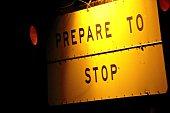 Prepare to Stop