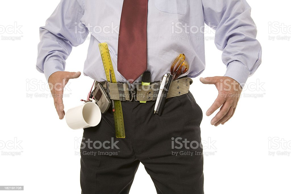 Prepared Business Man stock photo