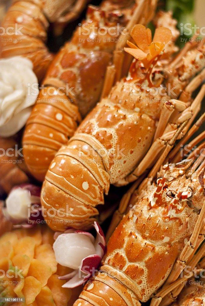 Prepared Crustacean royalty-free stock photo