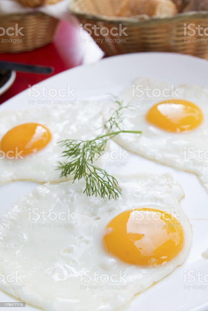 Prepared Egg royalty-free stock photo