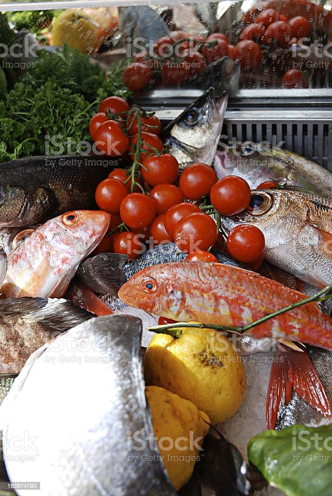 Prepared Fish royalty-free stock photo