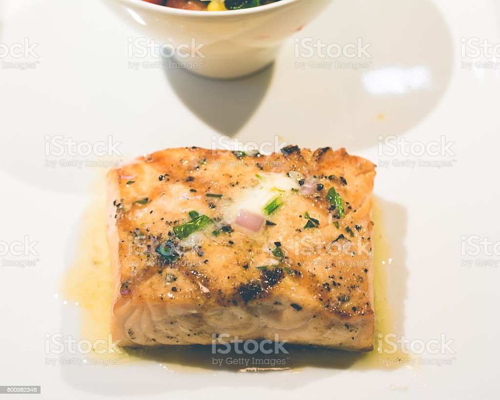 Prepared Fish stock photo