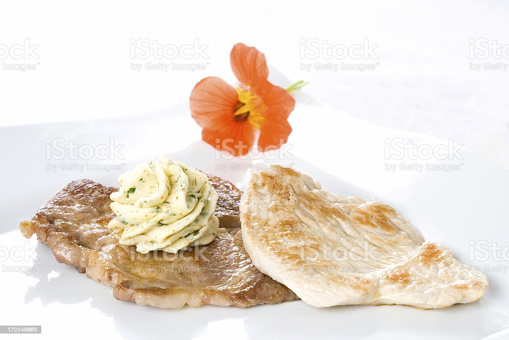 Prepared meat royalty-free stock photo