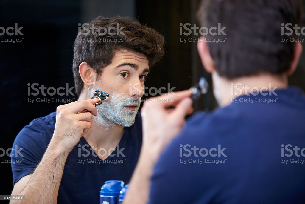Preparing for a smooth day ahead stock photo