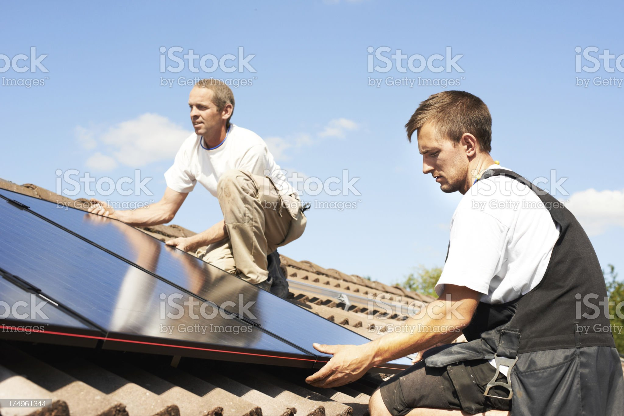 Preparing for an eco-friendly lifestyle royalty-free stock photo