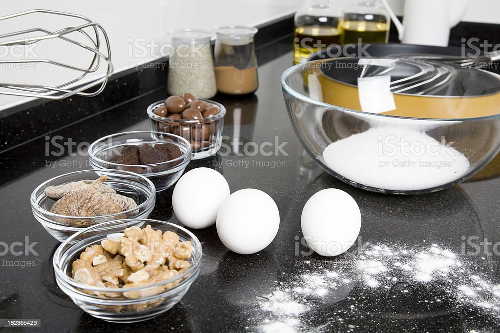 Preparing for cake royalty-free stock photo