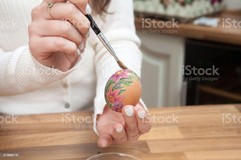 Preparing for Easter. stock photo