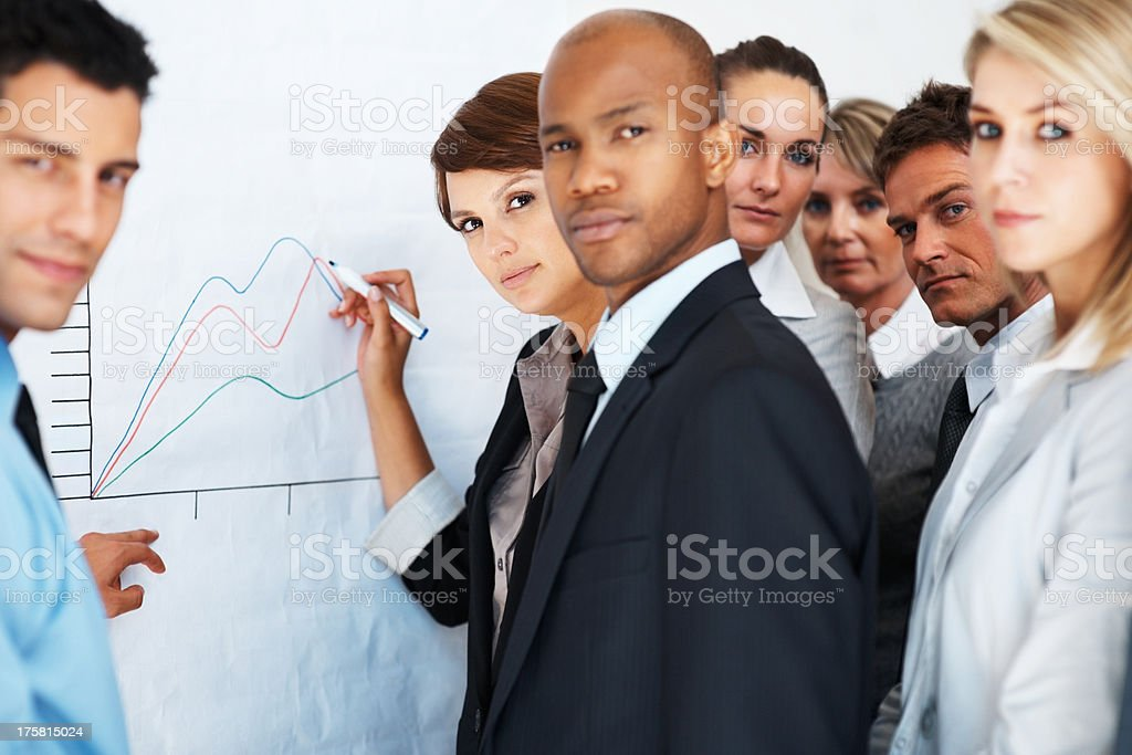 Preparing for market fluctuations stock photo