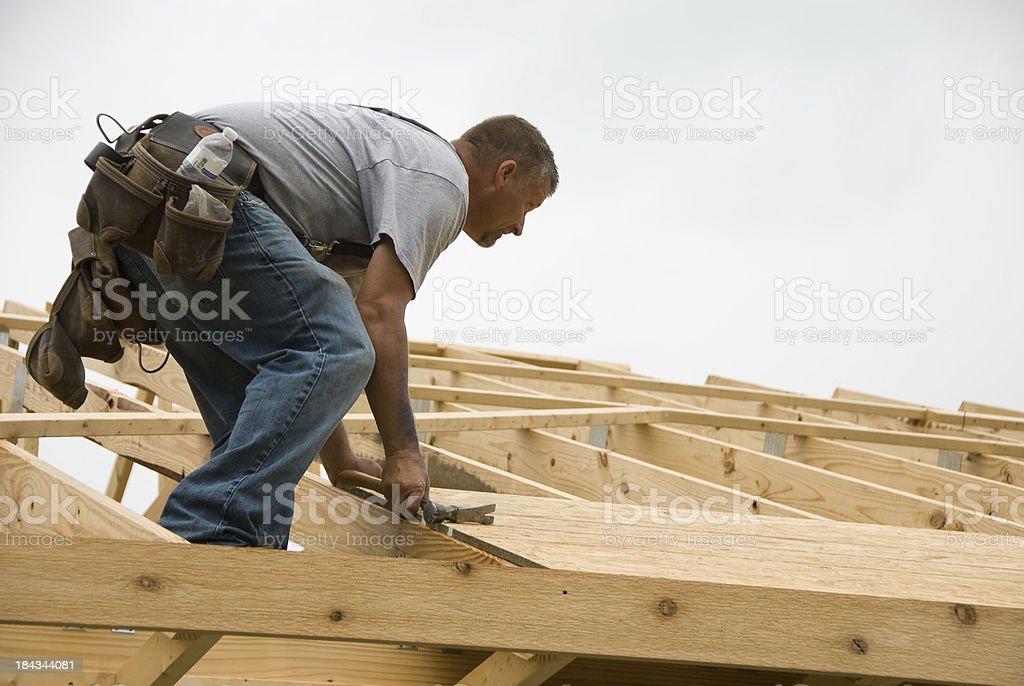 Preparing for Shingles stock photo