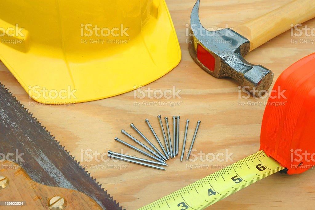 Preparing for Work royalty-free stock photo