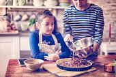 Preparing Homemade Pecan Pie for the Holidays