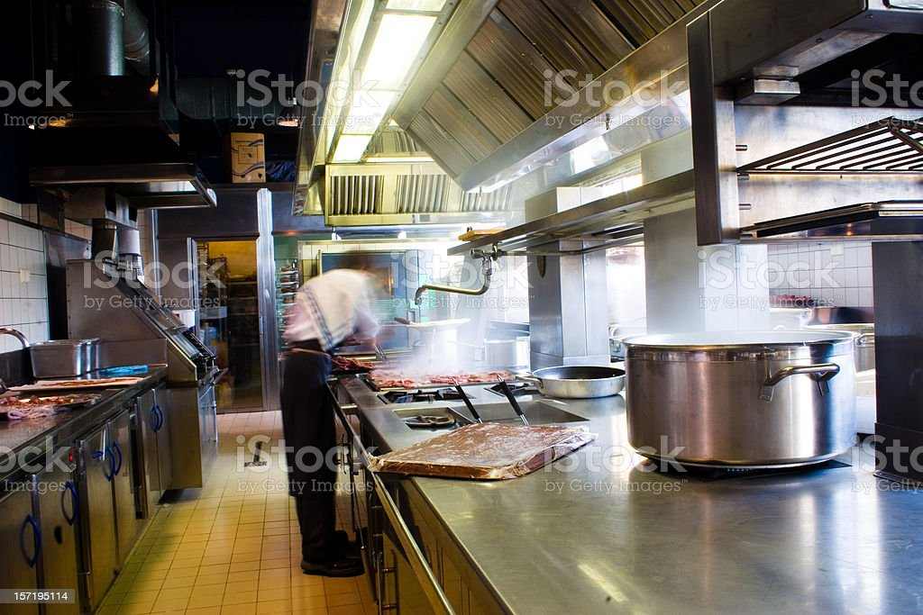 Preparing lunch royalty-free stock photo