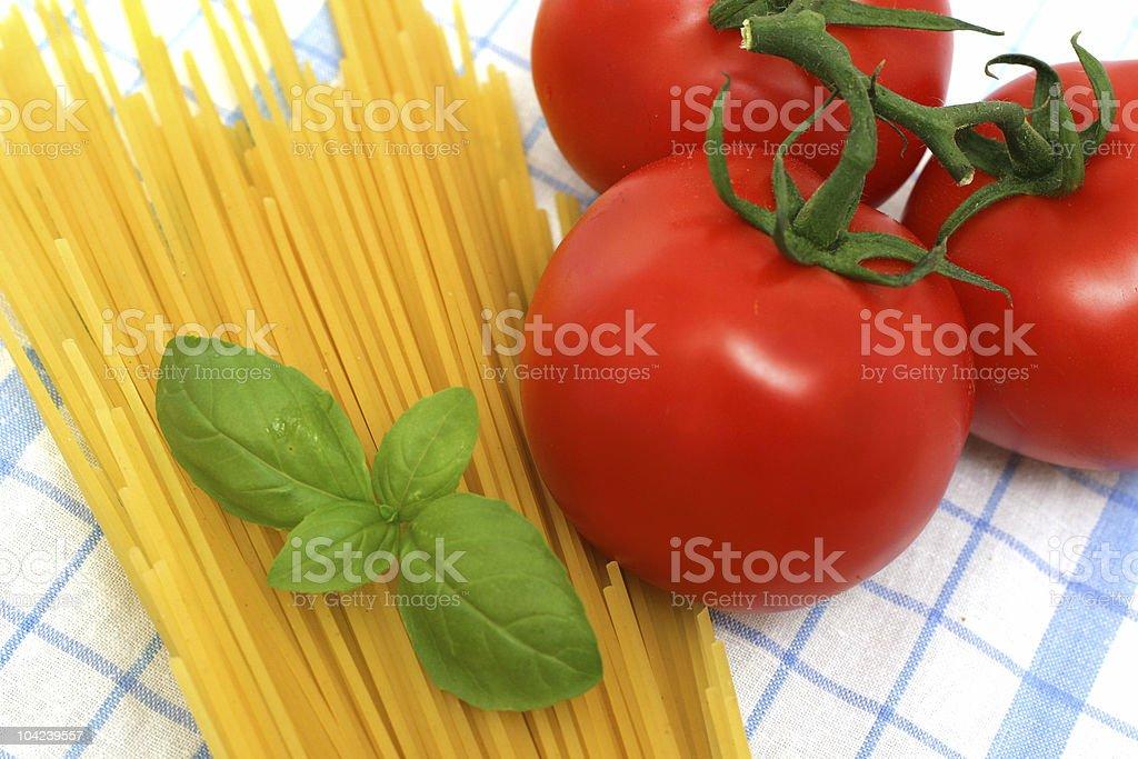 Preparing Pasta royalty-free stock photo
