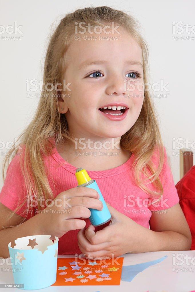 Preschool art royalty-free stock photo