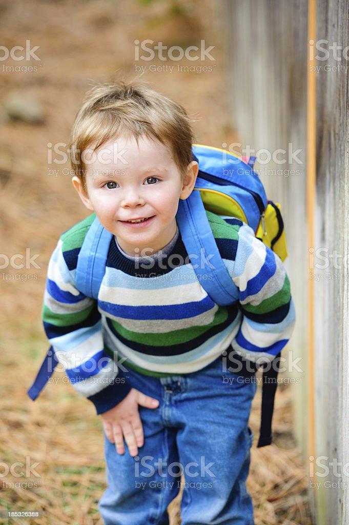 Preschool Boy royalty-free stock photo