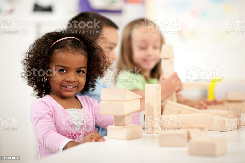 Preschool children royalty-free stock photo