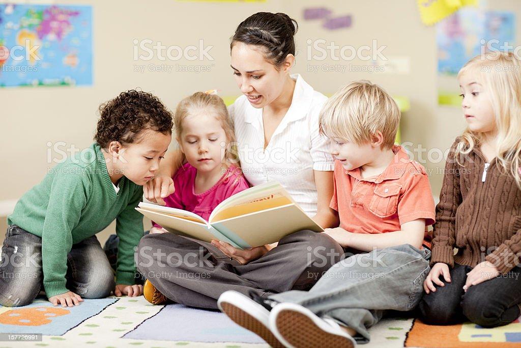 Preschool Daycare royalty-free stock photo