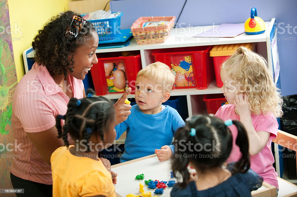 Preschool Daycare stock photo