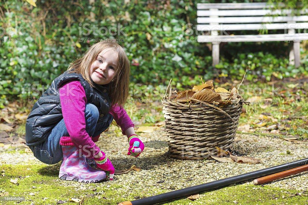 Preschool girl royalty-free stock photo