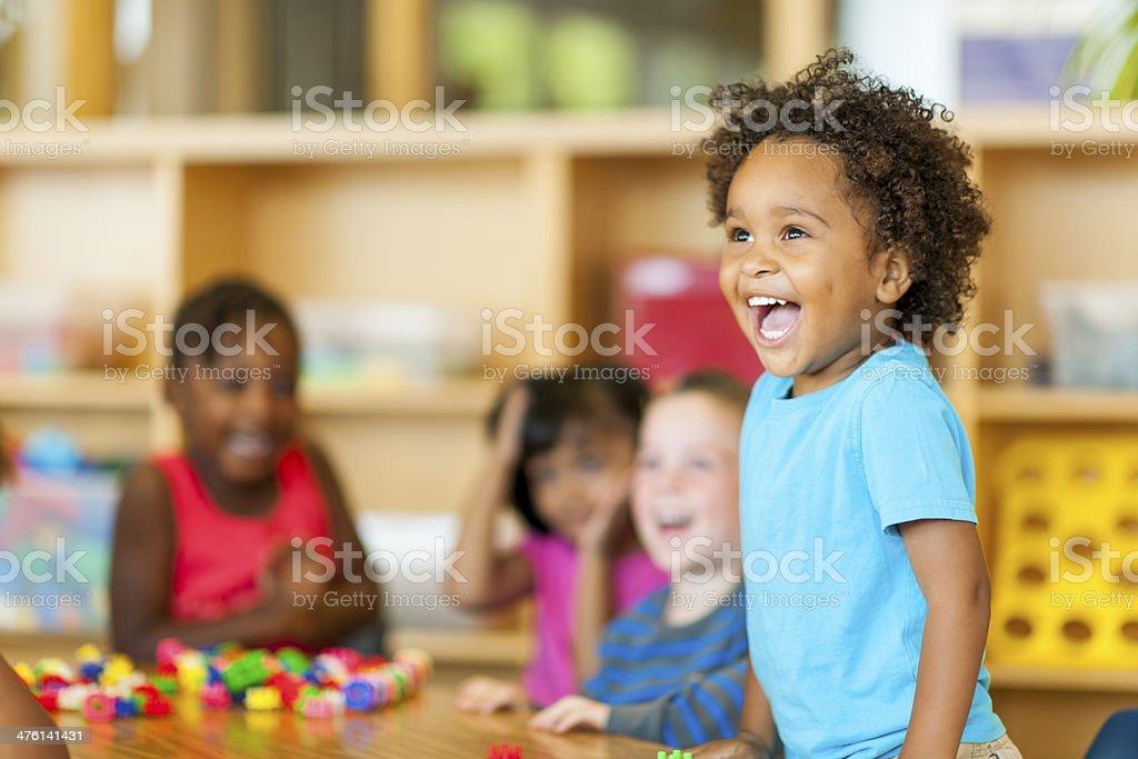 Preschool stock photo