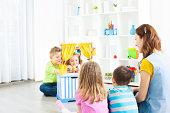 Preschool: Preschoolers Craft Activities Puppet Show.