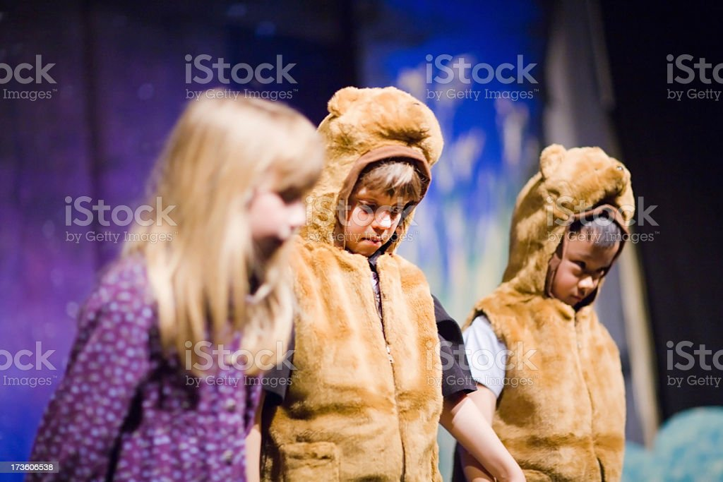 Preschool Theater Play stock photo