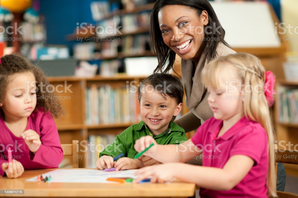 Preschoolers royalty-free stock photo