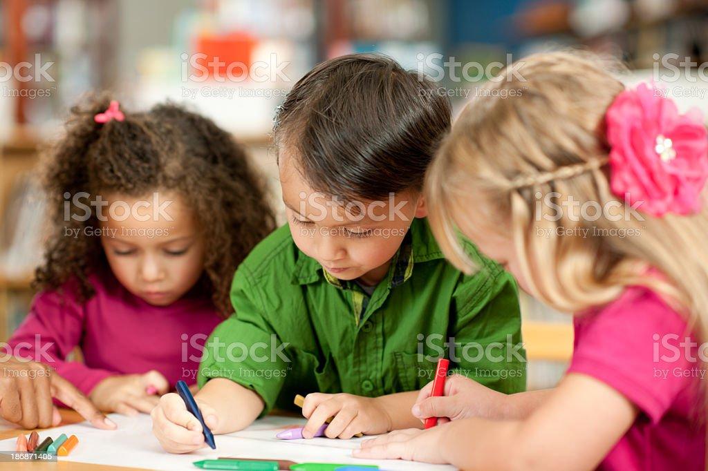 Preschoolers stock photo