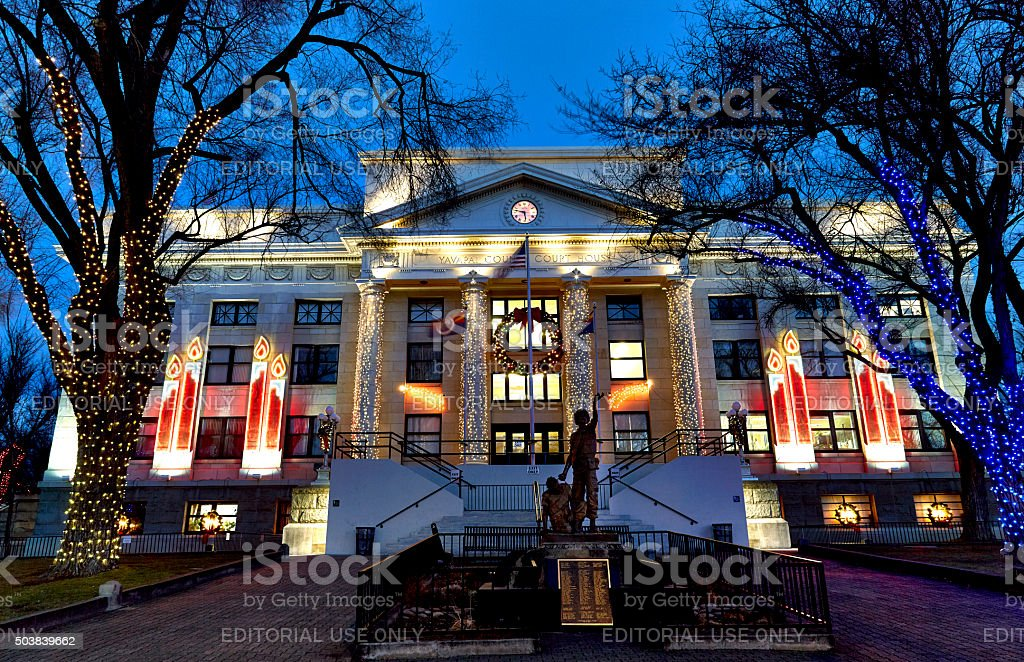 Prescott, Arizona, USA - December 24, 2015 stock photo