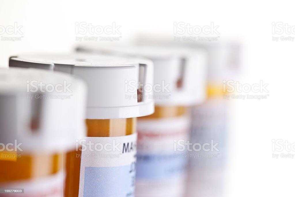 Prescription Bottles royalty-free stock photo