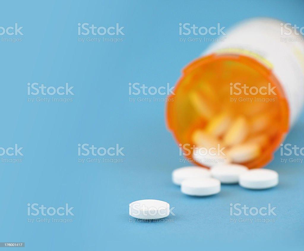 Prescription Drug Bottles royalty-free stock photo