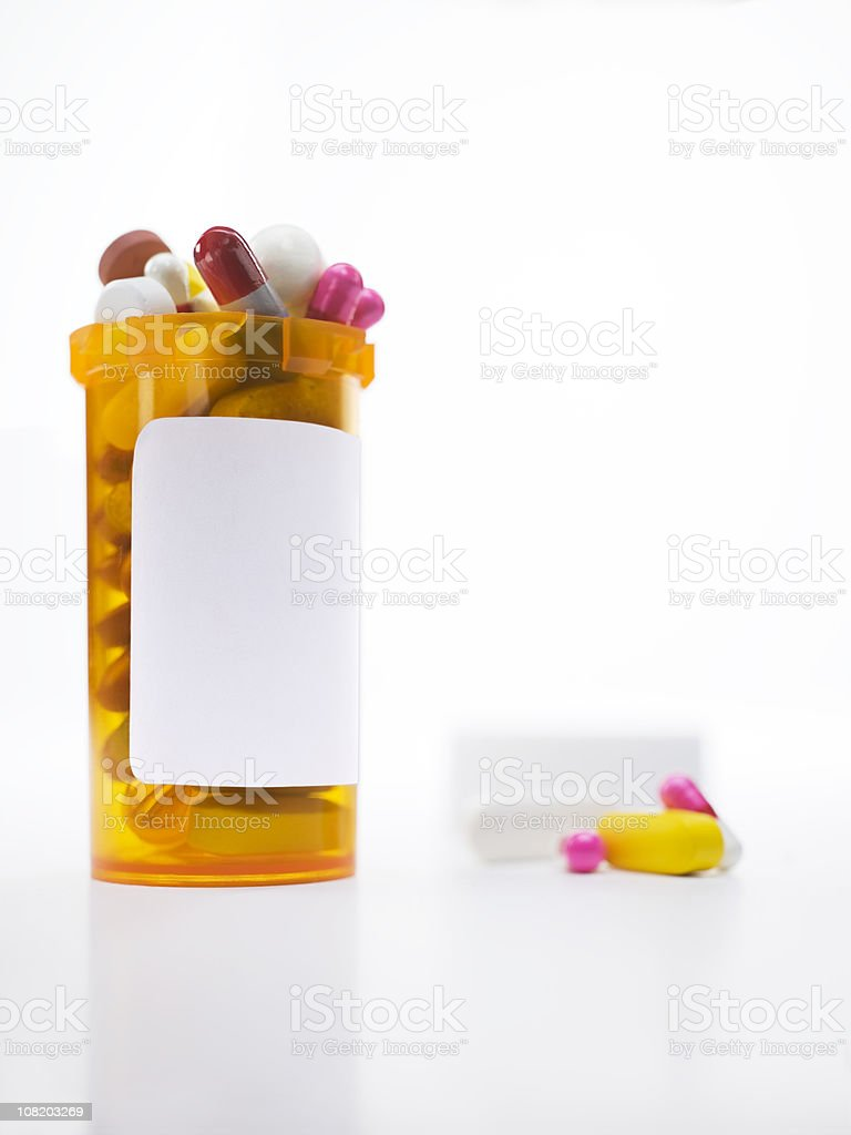 Prescription Drug Cocktail royalty-free stock photo