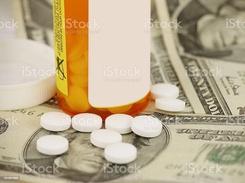 Prescription Drug Costs stock photo