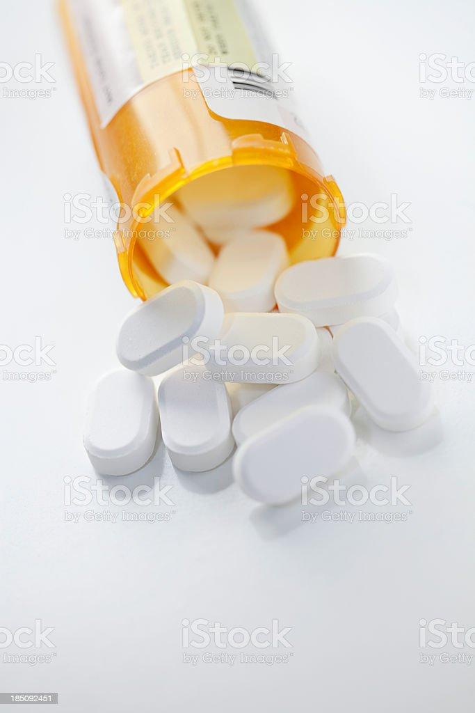 Prescription Drugs Vertical royalty-free stock photo